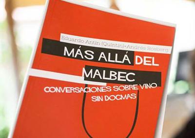 Libro Más Allá del Malbec